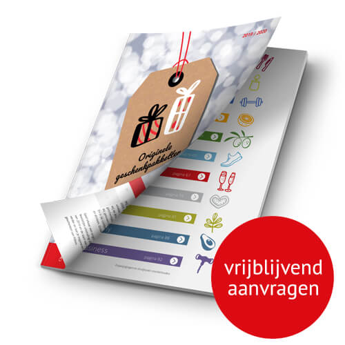 Kerstpakket brochure Fitbox