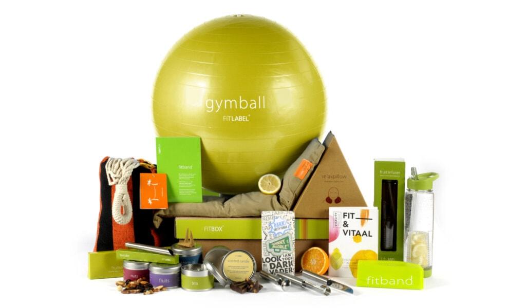 Kerstpakket Balance exclusief + food