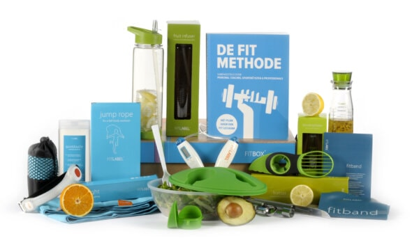 Kerstpakket Healthy sport + food