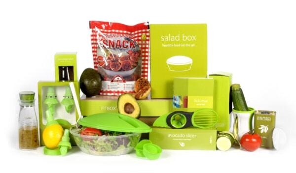 Kerstpakket Salad basis