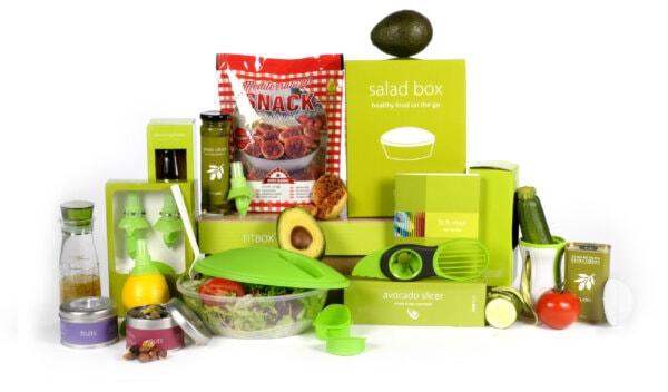 Kerstpakket Salad basis + food