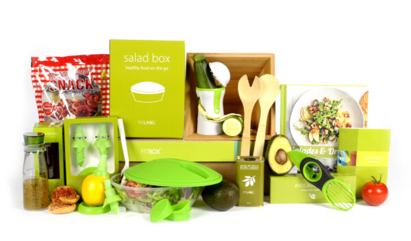 Kerstpakket Salad exclusief
