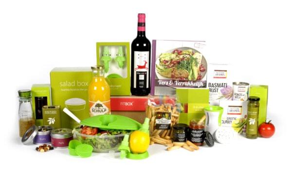 Kerstpakket Taste exclusief + food