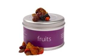 Kerstpakket Vruchtenmix in bewaarblik