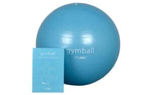 Kerstpakket Gymball met oefeninstructies