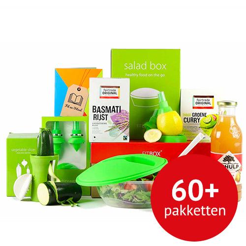 Kerstpakketten aanbod Fitbox